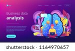 business analyst working on...   Shutterstock .eps vector #1164970657