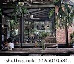 old loft cafe | Shutterstock . vector #1165010581
