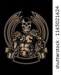 fight team logo | Shutterstock .eps vector #1165021624