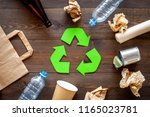 recycling. green recycle eco... | Shutterstock . vector #1165023781