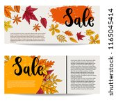 sale. set of banner templates... | Shutterstock .eps vector #1165045414