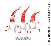 season greetings  christmas... | Shutterstock .eps vector #1165059481