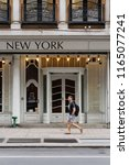 new york  usa   may 13  2018 ... | Shutterstock . vector #1165077241