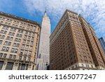 new york  usa   may 21  2018 ... | Shutterstock . vector #1165077247