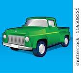 pick up truck | Shutterstock .eps vector #116508235