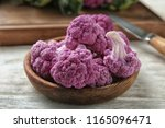 Plate With Purple Cauliflower...