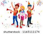 celebration  job event for... | Shutterstock . vector #1165111174