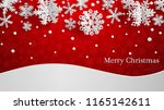christmas illustration with... | Shutterstock .eps vector #1165142611