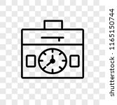 settings vector icon isolated... | Shutterstock .eps vector #1165150744