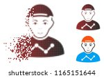 user stats icon with face in... | Shutterstock .eps vector #1165151644