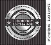 currency exchange silver badge...   Shutterstock .eps vector #1165165981