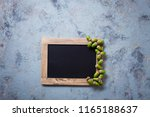autumn mood chalkboard and... | Shutterstock . vector #1165188637