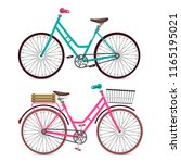 bicycle icon. vector bike... | Shutterstock .eps vector #1165195021