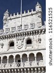 Belem Tower Details - stock photo