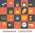 set of 20 icons such as sponge  ... | Shutterstock .eps vector #1165219294