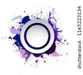 banner blot presentation ... | Shutterstock .eps vector #1165223134