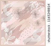 abstract scarf pattern   Shutterstock .eps vector #1165248814