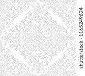classic seamless light pattern. ... | Shutterstock . vector #1165249624