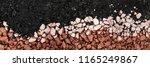 hot asphalt drying on base... | Shutterstock . vector #1165249867