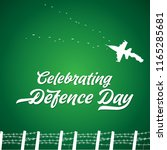 6th september happy defence day ... | Shutterstock .eps vector #1165285681