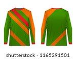 templates of sportswear designs ...   Shutterstock .eps vector #1165291501