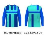 templates of sportswear designs ...   Shutterstock .eps vector #1165291504