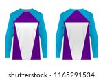 templates of sportswear designs ...   Shutterstock .eps vector #1165291534
