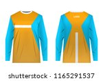 templates of sportswear designs ...   Shutterstock .eps vector #1165291537