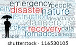 disaster recovery word cloud... | Shutterstock . vector #116530105