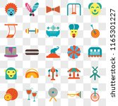 set of 25 transparent icons... | Shutterstock .eps vector #1165301227
