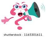 funny cartoon amazing question... | Shutterstock .eps vector #1165301611