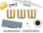 www concept vector design   Shutterstock .eps vector #1165313011