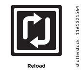 reload icon vector isolated on...