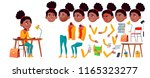 teen girl vector. animation... | Shutterstock .eps vector #1165323277