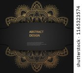 abstract luxury background  ... | Shutterstock .eps vector #1165323574