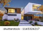 3d rendering of modern cozy... | Shutterstock . vector #1165326217