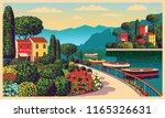 mediterranean romantic...   Shutterstock .eps vector #1165326631