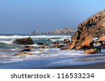wild coast near quiberon.... | Shutterstock . vector #116533234