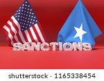 western sanctions against... | Shutterstock . vector #1165338454