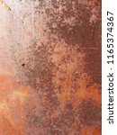 abstract background aged rust... | Shutterstock . vector #1165374367