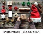christmas. concept  christmas ... | Shutterstock . vector #1165375264