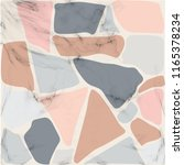 texture terrazzo floor ... | Shutterstock .eps vector #1165378234