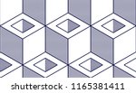geometric cubes abstract... | Shutterstock .eps vector #1165381411