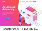 modern flat design isometric... | Shutterstock .eps vector #1165382167
