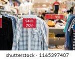 sale shopping season sale 70 ...   Shutterstock . vector #1165397407