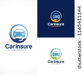 car insurance logo | Shutterstock .eps vector #1165411144