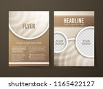 illustration of brochure flyer... | Shutterstock .eps vector #1165422127