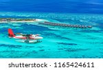 aerial view of a seaplane...   Shutterstock . vector #1165424611