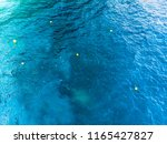 six buoy and sea marker in... | Shutterstock . vector #1165427827