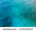 deep blue and green sea surface ... | Shutterstock . vector #1165436947